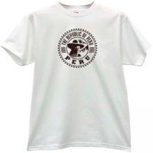 The Republic of Peru T-shirt in white