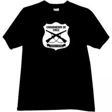 Carabineros de Chile T-shirt in black