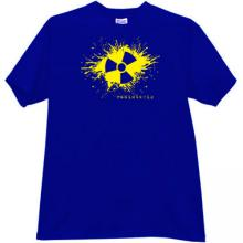 Radiologic Cool T-shirt in blue