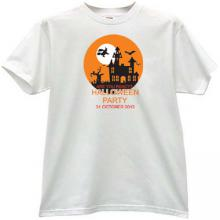 Are you ready? Halloween Party T-shirt in white