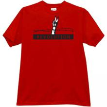 Revolution T-shirt in red
