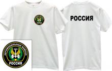 Road Troops Russian Army T-shirt in white