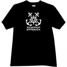Murmansk RosMorPort Cool T-shirt in black