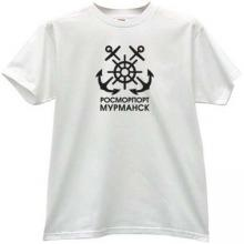 Murmansk RosMorPort Cool T-shirt in white