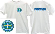 Russian Airforce Army T-shirt in white