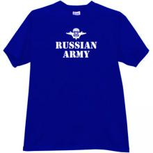 Russian Army VDV T-shirt in blue