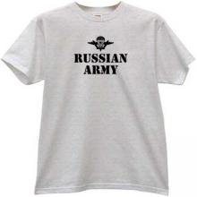 Russian Army VDV T-shirt in gray