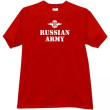 Russian Army VDV T-shirt in red