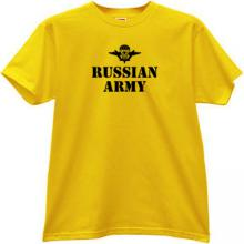 Russian Army VDV T-shirt in yellow
