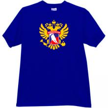 Russian Hockey T-shirt in blue