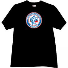 Ice Hockey Federation of Russia T-shirt in black