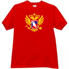 Russian Hockey T-shirt in red