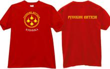 Russian Knights - Russian Air Force team T-shirt in red2