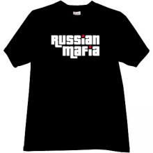 Russian Mafia Cool T-shirt in black