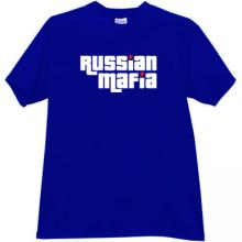 Russian Mafia Cool T-shirt in blue