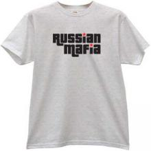 Russian Mafia Cool T-shirt in gray