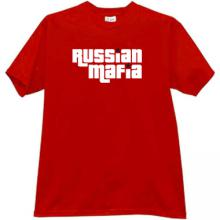 Russian Mafia Cool T-shirt in red