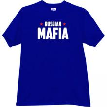 Russian Mafia New T-shirt in blue
