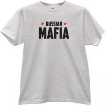 Russian Mafia New T-shirt in gray