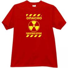 DANGER - Radioactive Irradiation! Russian Cool T-shirt