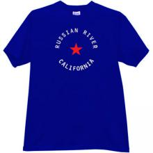Russian River - California Cool T-shirt in blue