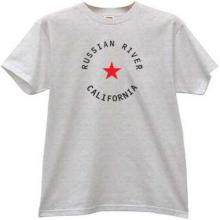 Russian River - California Cool T-shirt in gray