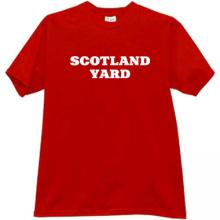 SCOTLAND YARD Cool T-shirt in red