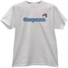 Severstal Cherepovets Hockey Club Russian T-shirt in gray