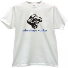 Sibirskaya Vodka - Russian T-shirt