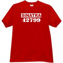 SINATRA Cool Mafia T-shirt in red