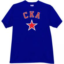 SKA Hockey Club St. Petersburg T-shirt in blue