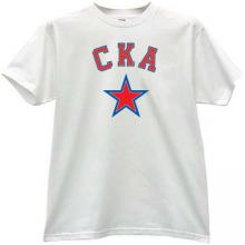 SKA Hockey Club St. Petersburg T-shirt in white