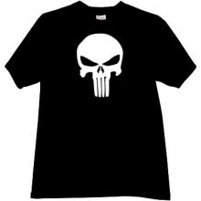 Skull T-shirt in black