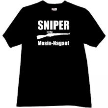 SNIPER - Mosin Nagant Russian Rifle T-shirt