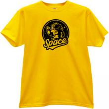 Space Argonautic Cool T-shirt in yellow