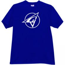 SUKHOI Aviation Corporation Old Logo T-shirt in blue
