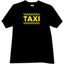 TAXI T-shirt in black