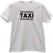 TAXI T-shirt in gray