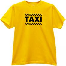 TAXI T-shirt in yellow