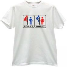 TOILET Funny t-shirt