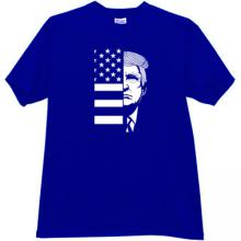TRUMP USA T-shirt in blue