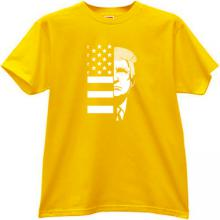 TRUMP USA T-shirt in yellow