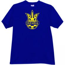Football Federation of Ukraine Cool T-shirt in blue