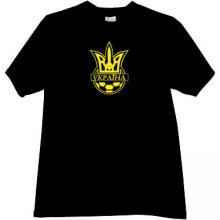 Football Federation of Ukraine Cool T-shirt in black