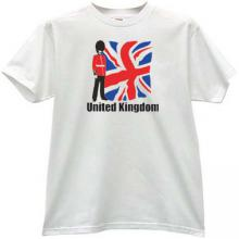 United Kingdom T-shirt in white 1