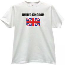 United Kingdom T-shirt in white