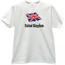 United Kingdom Cool Patriotic T-shirt
