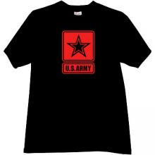 US ARMY T-shirt in black