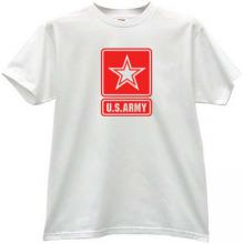 US ARMY T-shirt in white