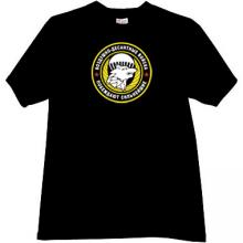 VDV Emblem Russian Army T-shirt in black